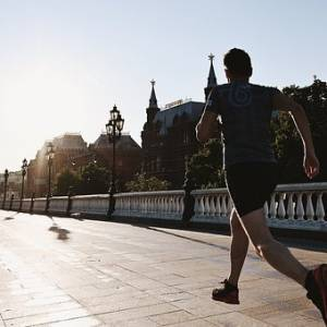 Why a run in the morning is healthy for you.