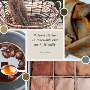 Revival of the Lost Knowledge of Natural Dyeing