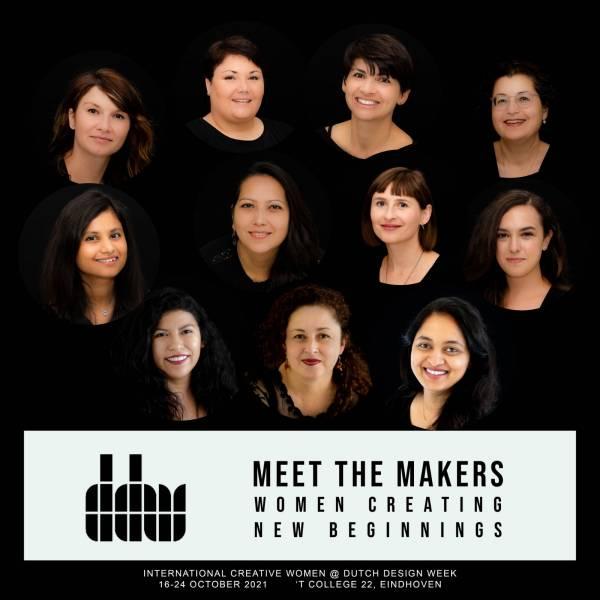International creative women presenting their own expo in DDW21