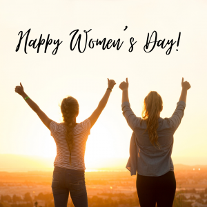 It's International Women's Day today!