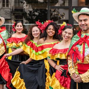 Grupo Colombia: Representing the diversity of Colombia through dance